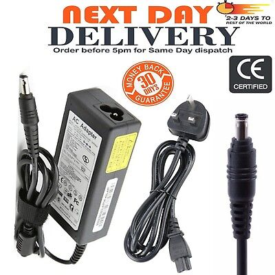 Laptop Charger for Samsung RV510 RV511 RV515 RV520 R530 RC512 R730 SF310 SF311