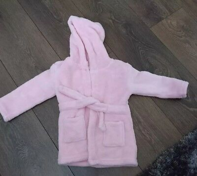 baby girl dressing gown robe 6-12 months