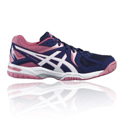 Asics Gel-Hunter 3 Womens Purple Squash Indoor Court Sports Shoes Trainers