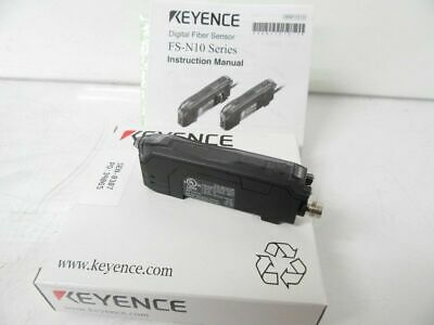 FS-N11CP FSN11CP Keyence Digital Fiber Optic Sensor Amplifier (New in Box)