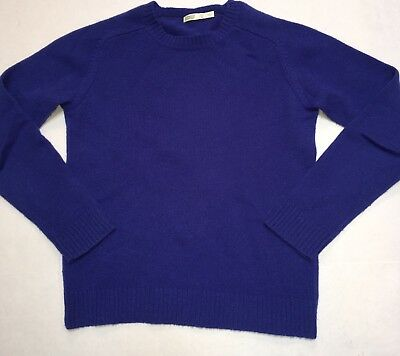 Crewcuts Everyday Boy's 12 Lambswool Crewneck Sweater Blue