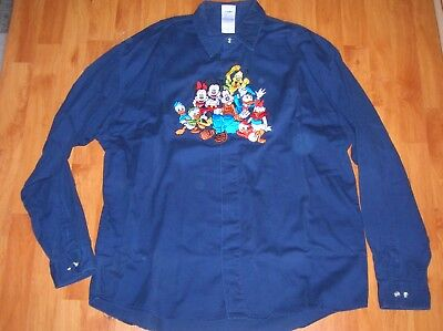 Chemise Disney / Taille L / Donald Daisy Plutot Minnie Mickey