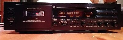 Nakamichi DR-1, 3 head stereo cassette deck, serviced, mint condition.