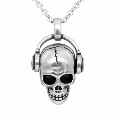 9e8ed2ddc Skull Necklace Rock 'N' Skull Pendant with Swarovski Crystal Jewelry By  Controse