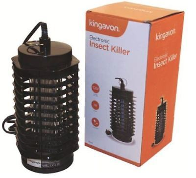 Electronic UV Light Plug In Insect Mosquito Fly Killer Indoor Patio Bug Zapper