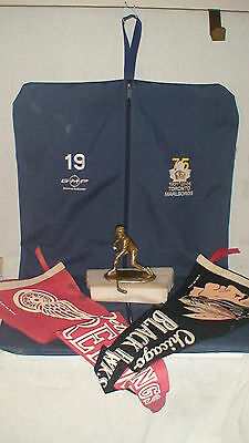 Auth. Vintage Toronto Marlboros  Ann. Issue Jersey Uniform Bag - Bronze Pennents