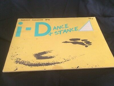 i-D MAGAZINE Issue 4 Early Edition From Summer 1981- Rare