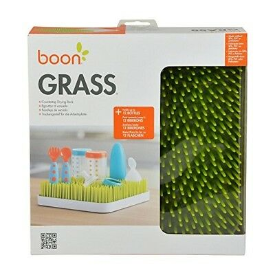 Boon Grass Countertop Drying Rack,Green Green, BPA-free, Phthalate-free and PVC-