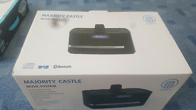 Majority Castle DAB/DAB+ Digital FM Radio Bluetooth Wireless CD Player Stereo