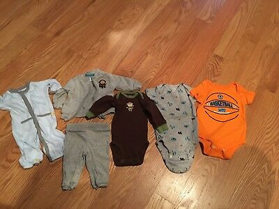 New Born and 3 M boy clothing lot Carters Spring/Summer