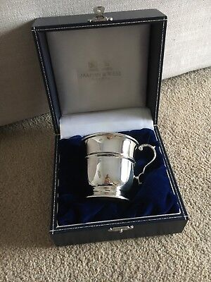 Mappin & Webb Sterling Silver Children's Cup RRP £450