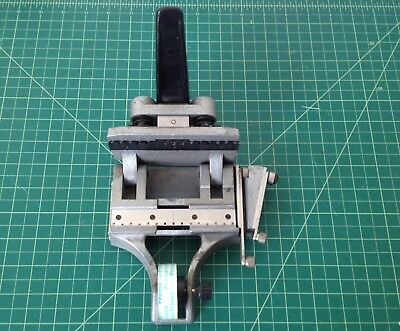 16MM SPLICER M2 CIR GUILLOTINE CATOZZO WITH TAPE edit movie animation celluloid