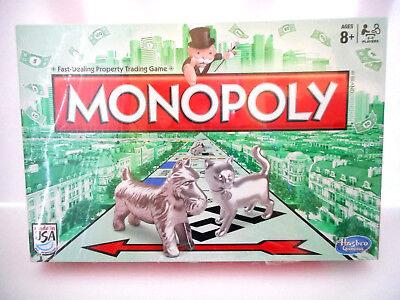 2014 Monopoly With New Cat Token  New In Sealed Box