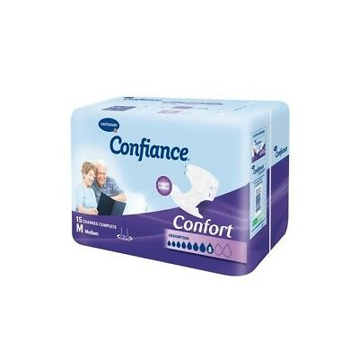 Confiance - Couches Adultes Confort Médium - sachet de 15