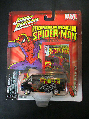 Johnny Lightning Marvel Spider-Man '77 1977 Chevrolet G-20 Van Diecast 1/64