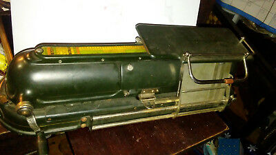 VINTAGE PROTECTOGRAPH CHECK WRITER PRINTER G.W. TODD & COMPANY  Early 1900's