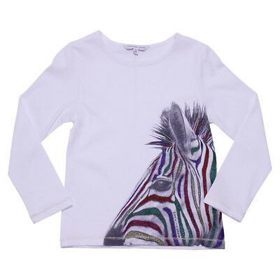 Little Marc Jacobs T-shirt bianca in jersy di cotone