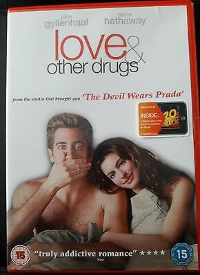 Love and Other Drugs DVD 2012 Jake Gyllenhaal  disc very good condition region 2
