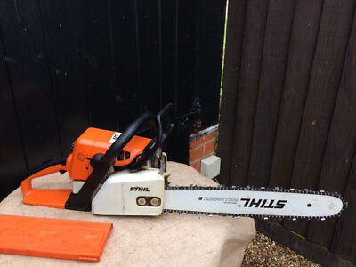 "Stihl 025 Chainsaw - 16"" Blade - Very Good Condition. Regularly Serviced"