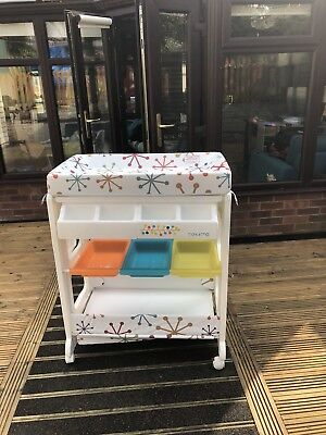 Cosatto Easi Peasi Baby Changing Table Unit With Storage & Integrated Baby Bath