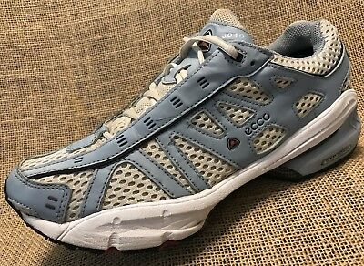 authentic quality best quality new arrivals WOMEN RUNNING SHOES ECCO RXP 3040 Blue White Sneakers ...