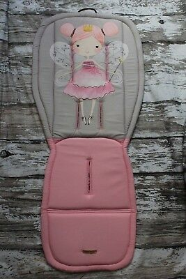 Custom universal seat liner fit Bugaboo Cybex Baby Jogger Uppababy Joie Oyster