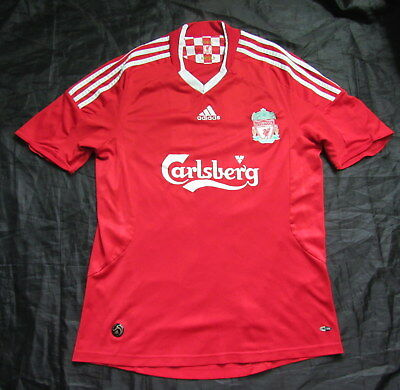 The Reds FC LIVERPOOL home shirt jersey  ADIDAS 2008-2010 trikot adult SIZE M