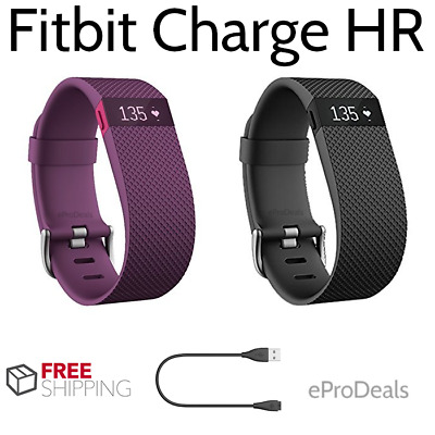 Fitbit Charge HR Activity Heart Rate + Sleep Wristband Band