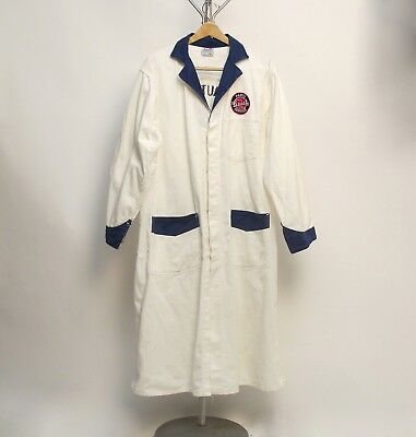 Vintage 1950's Mechanic's Work Coat ~Buick Parts Service~