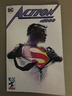 ACTION COMICS #1000 LIMITED EDITION EXCLUSIVE JOCK VARIANT Superman DC Comics