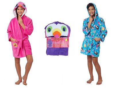 Saint Eve Swim Girls' Hooded Robe Beach Cover-Up - Select size/color