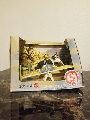 schleich scenery pack dog agility