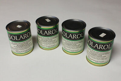 Solarol Developer - Lot of 4 Cans - to make 2 Quarts Stock Solution Each