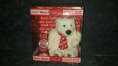 Coca-Cola Watch & Polar Bear Set