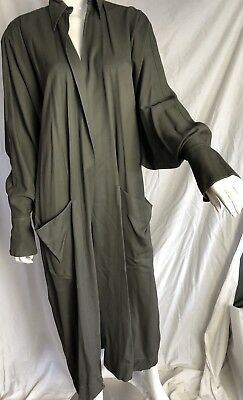 VINTAGE  ALaia Coat Duster CACOON SLEEVES XL