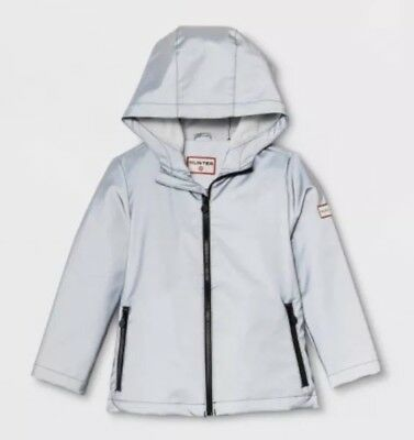 Hunter For Target Toddler 3T Silver Packable Rain Coat