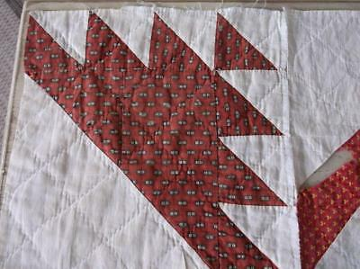 Back In Time Textiles~4 Rare Antique 1830 quilt blocks amazing EARLY fabric