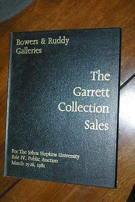 The Garrett Collection Sales # 3 auction catalog Bowers & Rudy US rare Coins