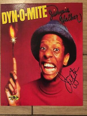 Jimmie Walker Signed Good Times 8x10 With Hologram COA By Celebrity Services