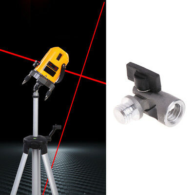 5/8 Inch Angle Tripod Rotary Laser Levels Dual Slope Adjustment Bracket Rod