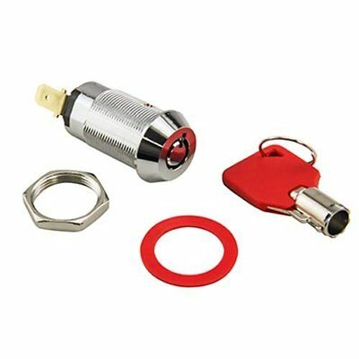 Tubular Momentary Switch Lock Cylinder With 1 Key, Keyed Alike Ignition