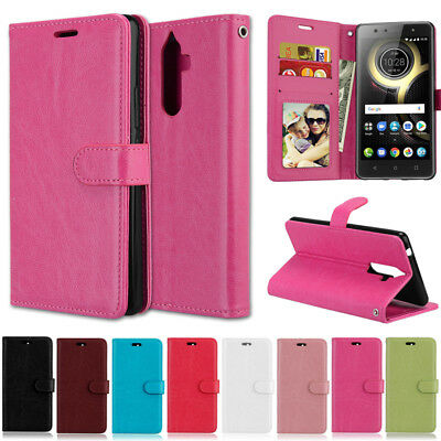 Slim Card Wallet Leather Flip Case Cover For Lenovo A319 A536 K6 Note A2010 P1M