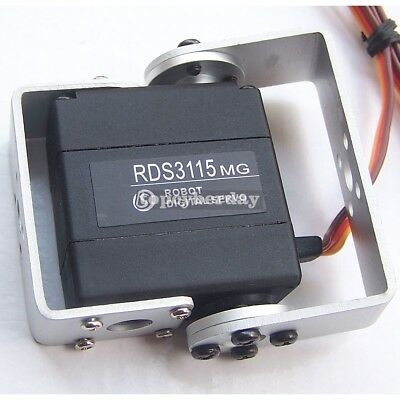 RDS3115MG 15KG Large Torque 180 Degree Biaxial Digital Servo for RC Robot