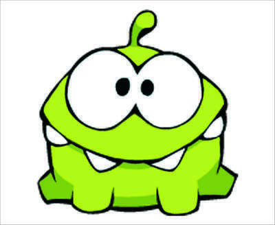 mp0009 Cute Cut The Rope Moster Mouse Pad