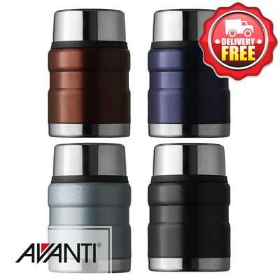 Avanti Stainless Steel Vacuum Insulated Thermo Food Flask 470ml | StainlessSteel