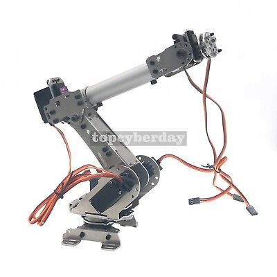 6-Axis S6 Industrial Mechanical Robot Arm Steel Metal Robotic Manipulator DIY UK