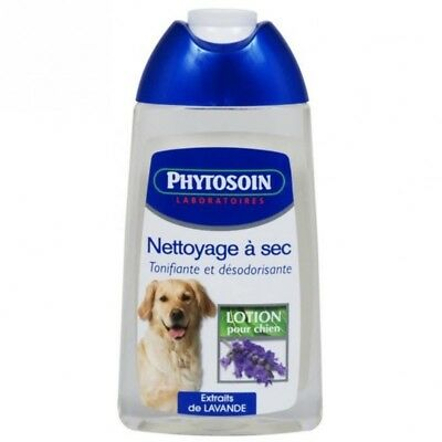 PHYTOSOIN lotion nettoyage a sec 250 ml chiens