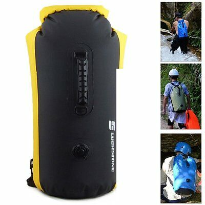 Waterproof Underwater Clothes Storage Dry Bag Backpack For Hiking Siwmming 60L