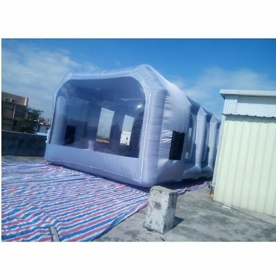 Inflatable Spray Booth Custom Tent Car Paint Booth Inflatable Car 33x16x11Ft