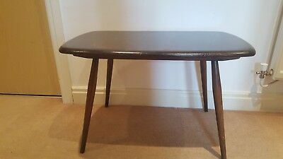 Ercol side coffee lamp table windsor vintage 2600 picclick uk ercol side coffee lamp table windsor vintage aloadofball Image collections
